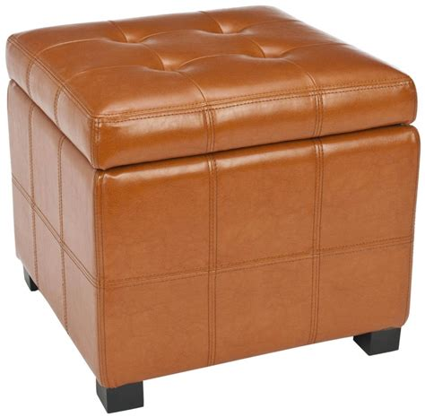 5 Best Orange Ottoman Give You A Orange Room Tool Box Orange Ottomans