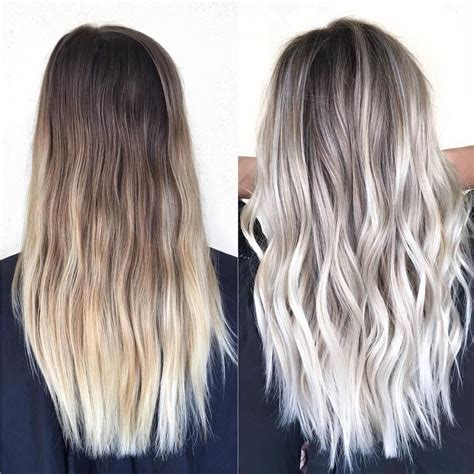 platinum silver blonde balayage see this instagram photo by olaplex 14 3k likes hair