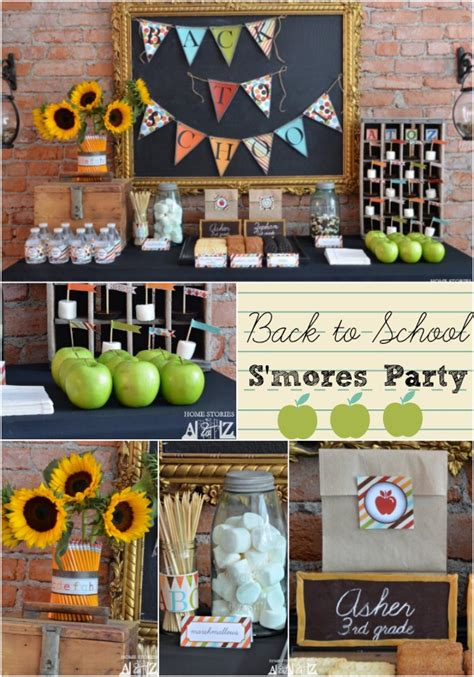 Back To School Decorating Ideas by Back To School S Is For S Mores Home Stories A To Z