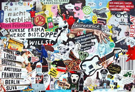 Collage Auf Leinwand Basteln 1273 by Bilder Collage Basteln My