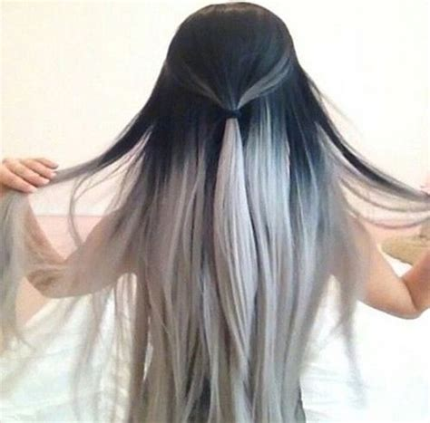 black and white color hairstyles 15 black and white hairstyles are you a fan of the salt