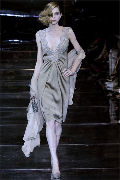 Haute Couture Giorgio Armani Prive Autumnwinter 2008 Collection by Giorgio Armani Priv 233 Parigi Haute Couture Fall Winter