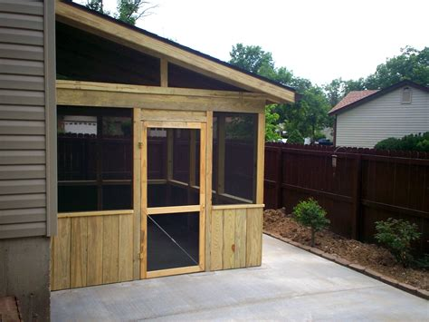 outdoor screen room screened room on patio st louis decks screened porches
