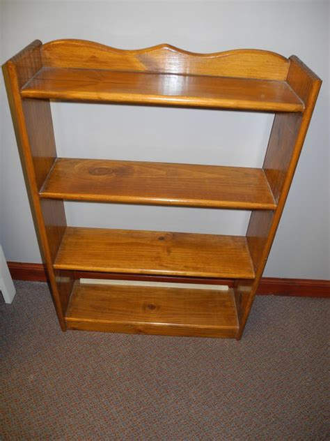 antiques atlas small pine bookcase