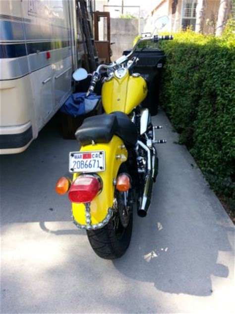 2001 indian motorcycle yellow scout