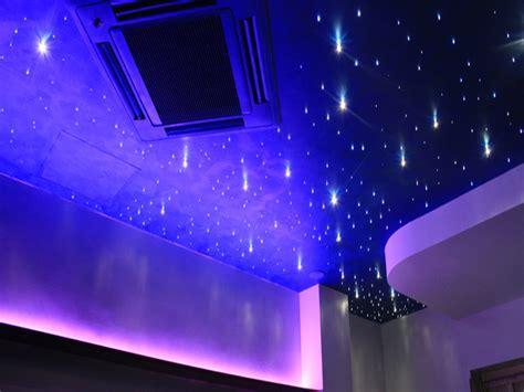 soffitto stellato cielo stellato e swarovski metfibreottiche