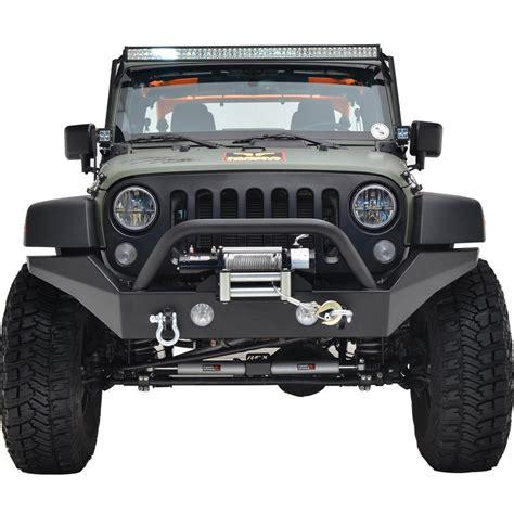 Jeep Wrangler Width 07 16 Jeep Wrangler Jk R7 Width Front Bumper