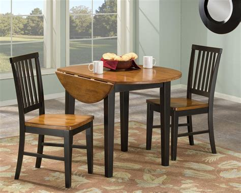 Kitchen Table Setting Drop Leaf Kitchen Table Set 3 Drop Leaf Kitchen Tables For 3 Different Ways Of Kitchen Concept