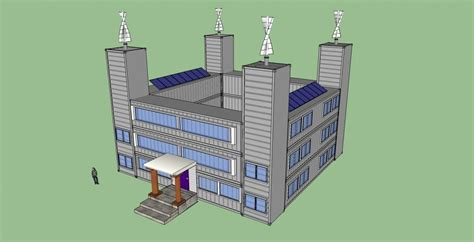 Sketchup Floor Plans by Steel Container House Plans In My Shipping Container Home