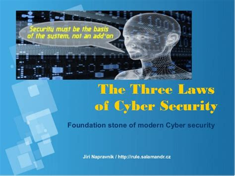 the three laws of cyber security
