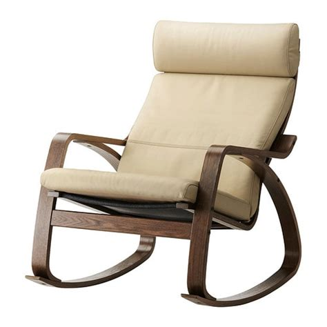 poang rocking chair po 196 ng rocking chair glose eggshell ikea