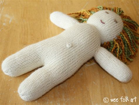 wee folk knit doll knitted in the 12 quot baby doll part 1 knitting the