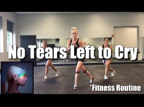 No Tears On Their Own Mashup by Grande No Tears Left To Cry Cardio Mashup