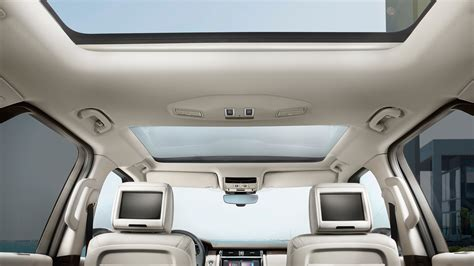 range rover sunroof open land rover san antonio official