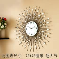 luxury large living room wall clock fashion e quartz personalized modern wall clock fashion