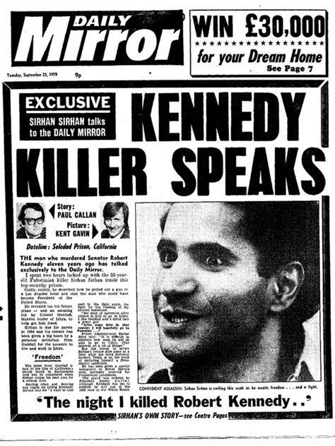 'Sirhan DID shoot Bobby Kennedy. He held an imaginary gun