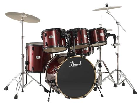 Set Drum Pearl Merah Asik pearl ex826 b export 6 drum kit zzounds