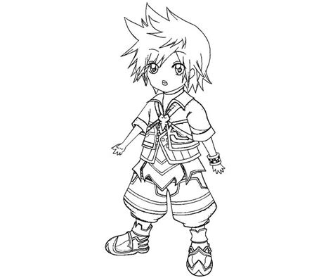 kingdom hearts coloring pages sora kingdom hearts color pages coloring home