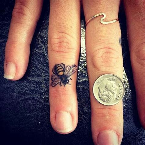 small ring tattoos best 25 inner finger ideas on inside