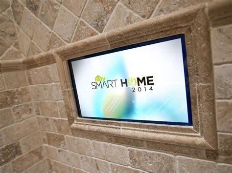 bathroom smart tv master bathroom pictures from hgtv smart home 2014 hgtv