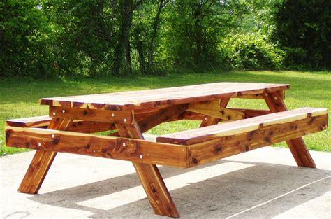 wood log picnic table plans pdf plans