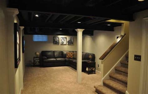 Basement Makeover Ideas Diy Projects Craft Ideas How To Low Basement Ceiling