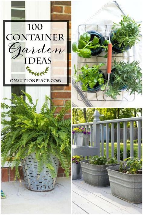 Herb Container Gardening Ideas Best 20 Growing Flowers Ideas On Flowers Garden Easy Garden And Hydrangea Garden