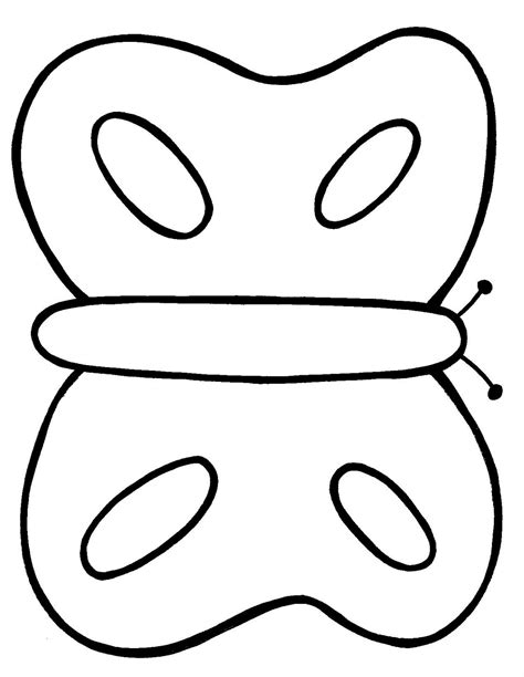Simple Outline Of A by Simple Butterfly Outline Clipart Best