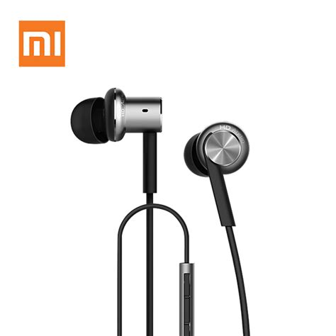 original xiaomi hybrid earphone with mic remote headset for xiaomi redmi mi mobile phone in