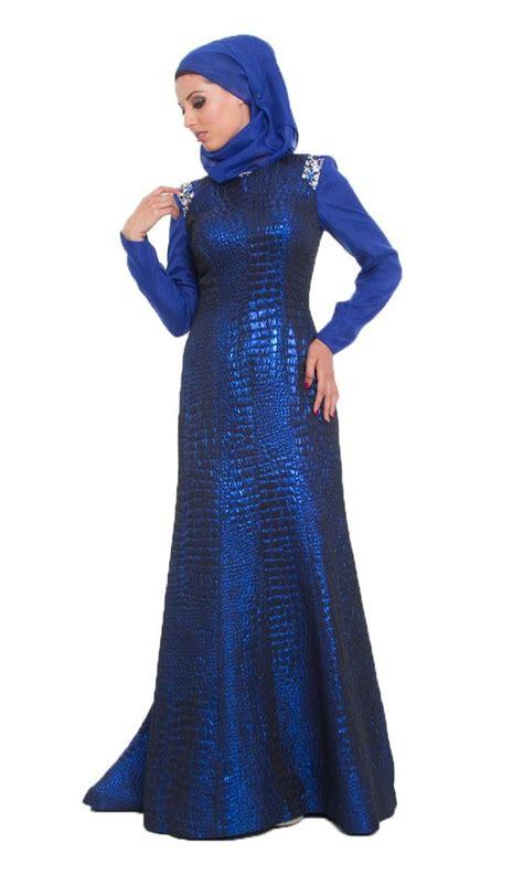 long dress muslim women amie royal blue islamic formal long dress with hijab