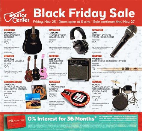 Black Friday Pit Sale Guitar Center Black Friday Ads Sales And Deals 2016 2017