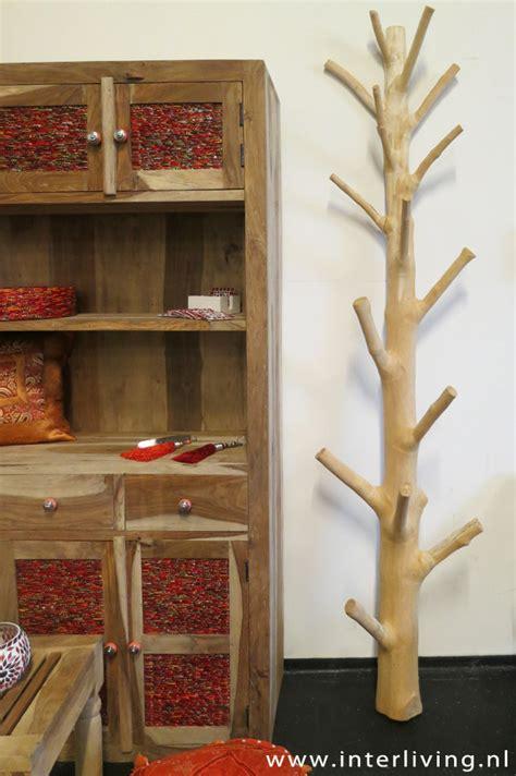 kapstok staand boom houten kapstok boom prachtige en unieke kapstok webshop