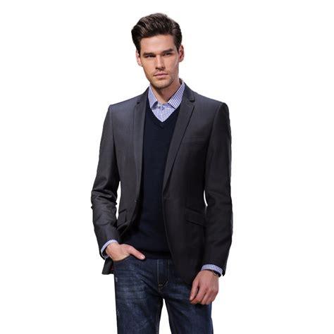 Slim Fit Blazer Dress brand darouomo new design mens blazer suits casual slim