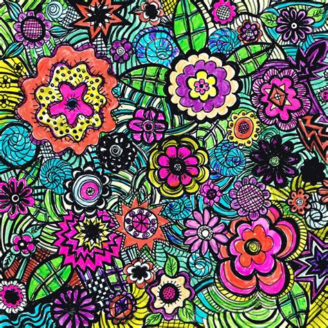 doodle god flower puzzle colorflower doodle jigsaw puzzle in marquel seither