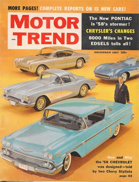 Trend Möbel by Vintage Review 1958 Chevrolet Impala And Bel Air Motor