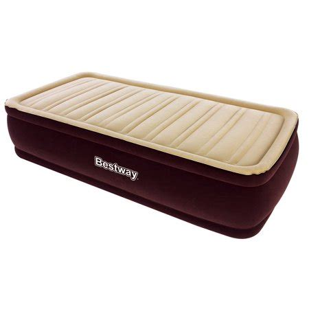 bestway xx inflatable comfort raised airbed mattress  walmartcom