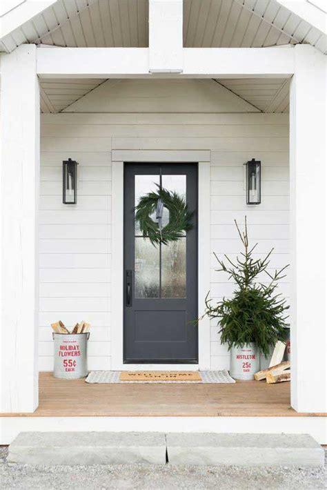 Porche Pour Maison by Le Porche D Entr 233 E Une D 233 Co Simple Et Naturelle Pour Les