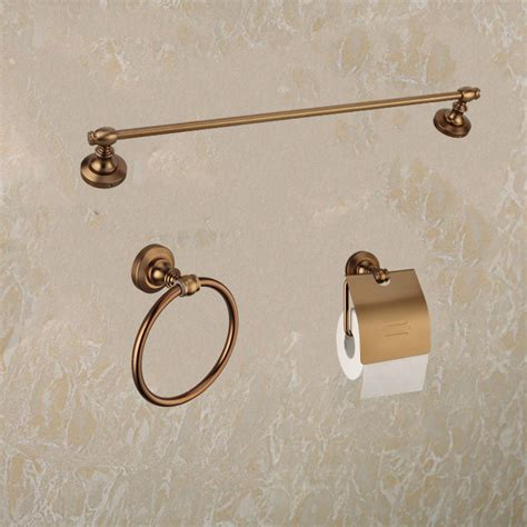 bathroom towel rack sets luxury antique bathroom accessories set double towel rack