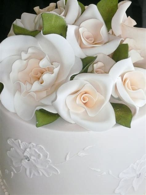 Wedding Cake Decorating Ideas   Easy Wedding Cake