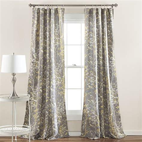 cheap curtain panel sets lush decor c37201p15 000 lush decor forest window curtain