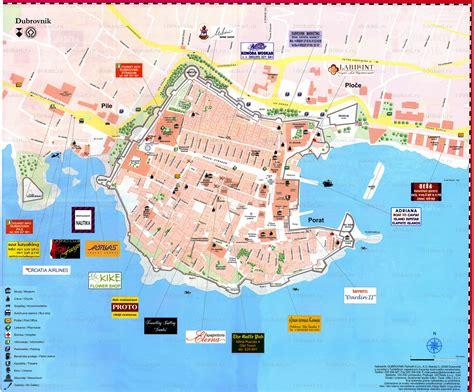 croatia map dubrovnik map dubrovnik mappery