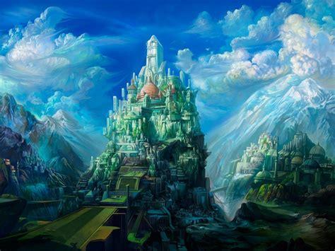 wallpaper 3d scenery 3d landscape fantasy art scenery desktop wallpaper nr 47783