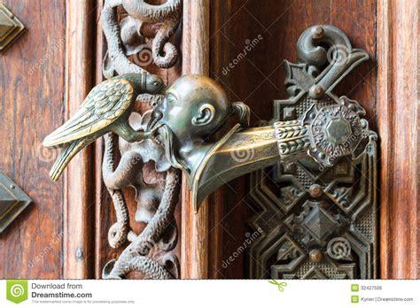 ornate door handle royalty  stock image image