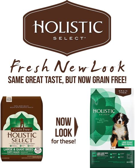 holistic select large breed puppy holistic select large breed puppy chicken meals grain free