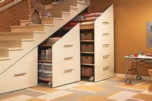 Under Stair Closet Storage by Original Under Stairs Storage Space Ideas Alldaychic