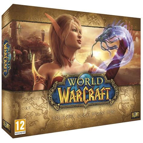 Pc Original World Of Warcraft Battle Chest 1 pc world of warcraft battle chest 5 0 5030917137549