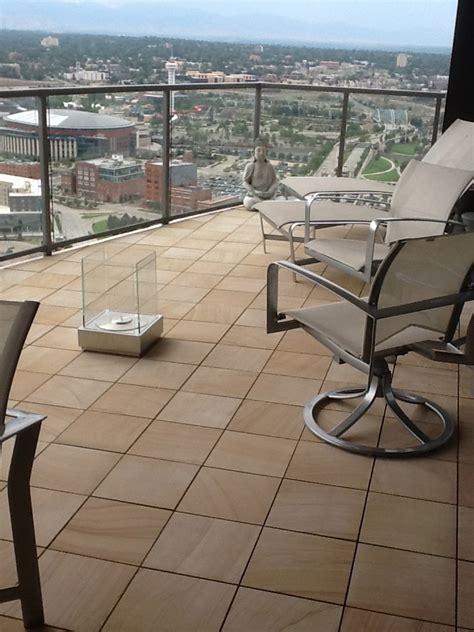 Interlocking Patio Flooring by Interlocking Deck Tiles Deck With Artwork