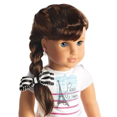 hairstyles for american girl doll videos 255 best american girl doll hairstyles images on pinterest