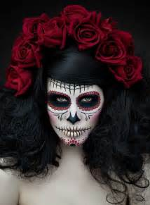 Day Of The Dead Halloween Costumes 1000 Images About Sugar Skull Make Up On Pinterest Dia De Halloween Makeup And Skull Face