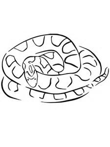 gopher snake coloring page corn snake coloring page free printable coloring pages